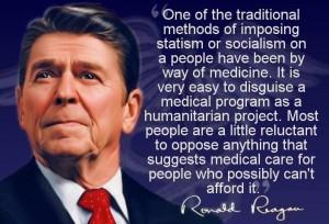 ReaganOnMedicalCare